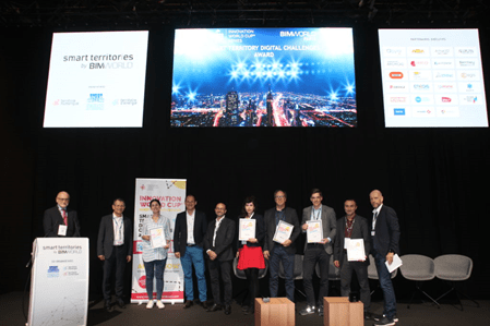 The Innovation World Cup® Series brought the first Smart Territory Digital Challenges Award to Paris!