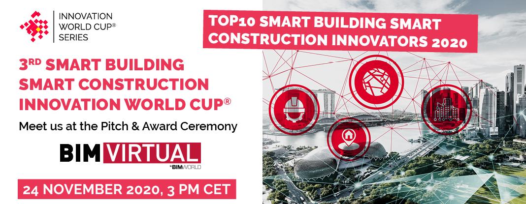 Meet the TOP10 Smart Building Smart Construction Innovators 2020