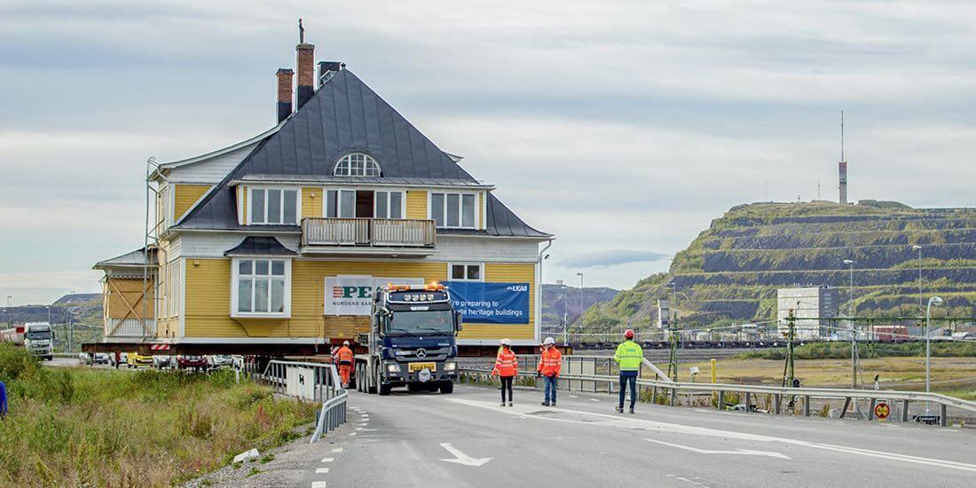 Kiruna – eine Stadt in der Arktis muss umziehen, um nicht vom Erdboden verschluckt zu werden