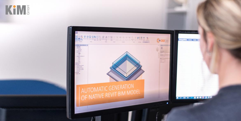 BIM-Technologie für Bauprodukte-Hersteller: BIM/CAD-Daten aus einer Datenquelle